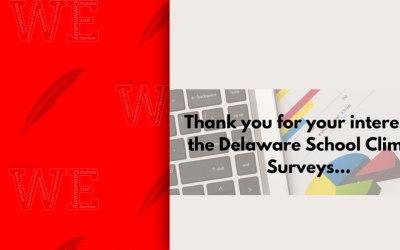 Encuesta sobre el clima escolar de Delaware