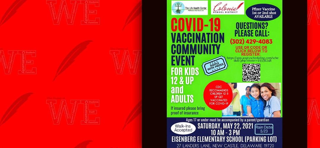 Covid 19 Vaccination Community Event