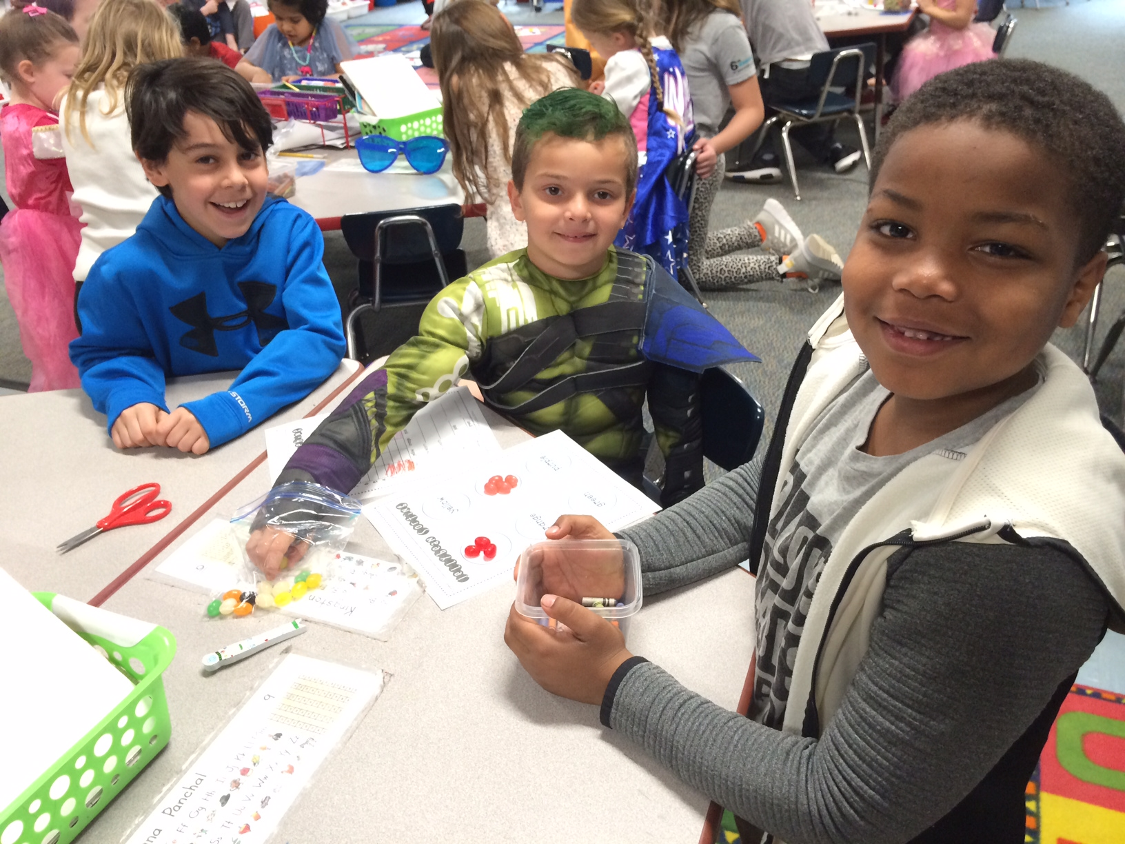 Third Grade And Kindergarten Bud S Make Connections At Plymouth Elementary School