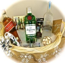 Celebrate Valentine's Day with a Custom Alcohol Gift Basket ...