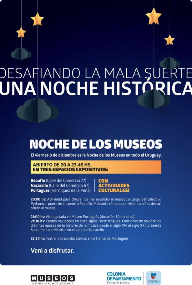 afiche a3 museos noche