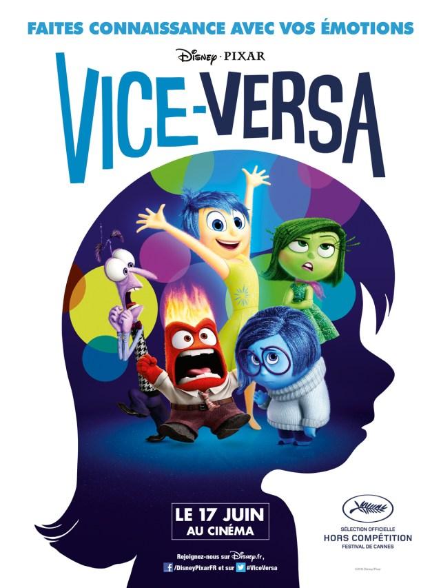 Coloriage Vice Versa Disney à imprimer