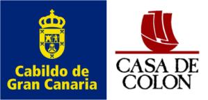Logo del Cabildo de Gran Canaria y la Case de Colón