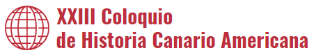 Logo del XXIII Coloquio de Historia Canario Americana