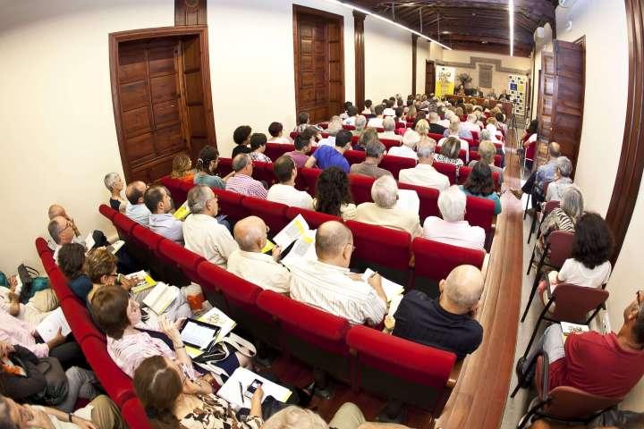 Público asistente al XXII Coloquio de Historia Canario Americana