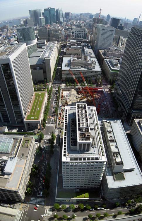 Vue du 36e étage de Marunouchi…