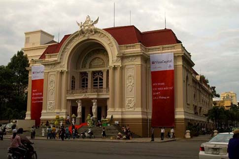 Le théâtre municipal, Ho Chi Minh, Vietnam