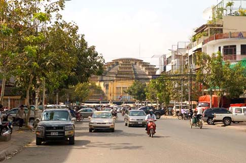 Dans les rues de Phnom Penh