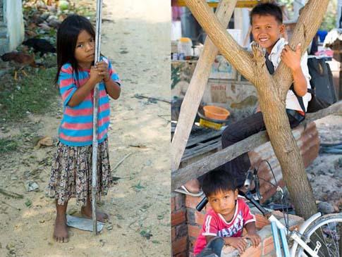 On the road, south of Phnom Penh, Cambodia - Sur la route, au sud de Phnom Penh, Cambodge
