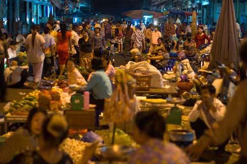 Autour du marché russe, Phnom Penh - Around the Russian market, Phnom Penh