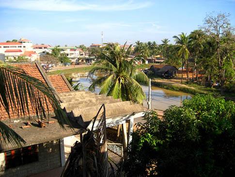 Vue de l'hôtel - Siem Reap