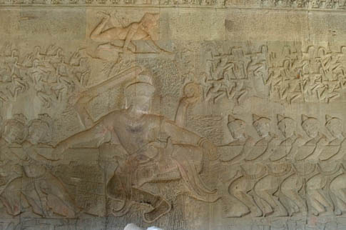 Angkor Wat - Bas-reliefs