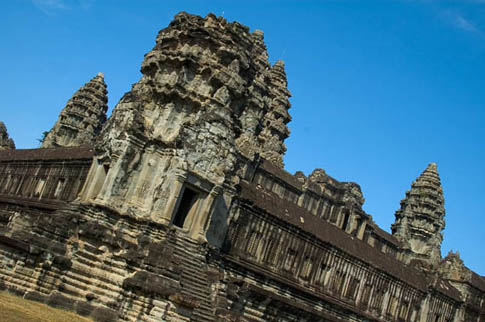 Angkor Wat - Enceinte - Central structure