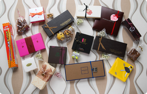 Collection de chocolats pour la Saint Valentin