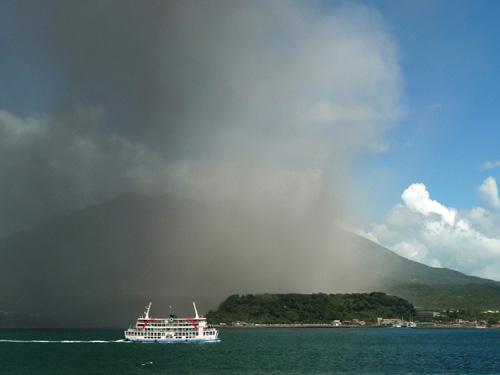 Eruption de Sakurajima