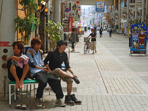 Tenmonkan à Kagoshima