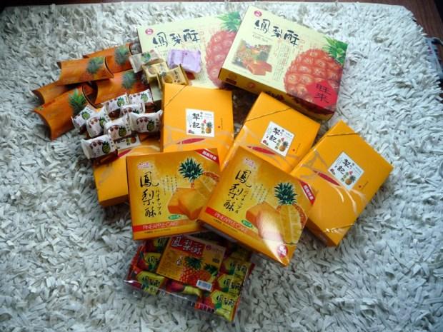 Les fameux gâteaux à l'ananas de Taïwan