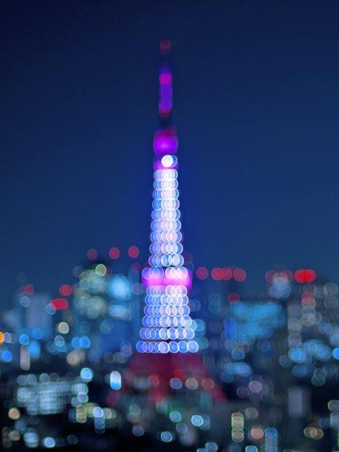 Tour de Tokyo - 1er octobre - bokeh