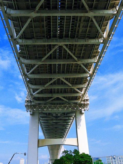Sous le Rainbow bridge - Tokyo
