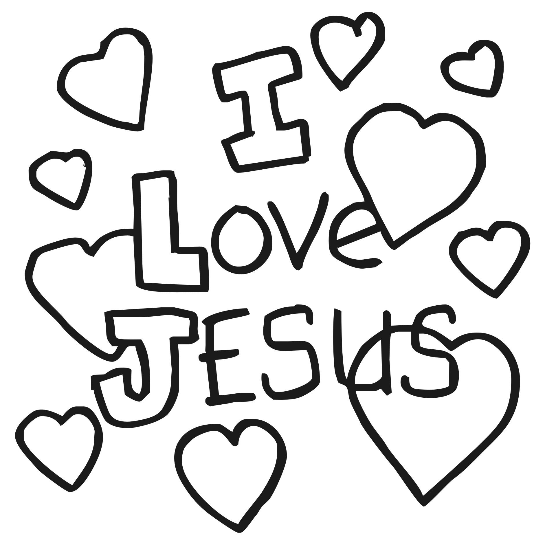 Clipart Amp Design Ideas Clipart Religious I Love Jesus