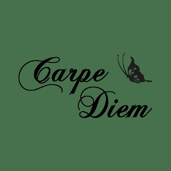 Stickers citation Carpe Diem - Color-stickers