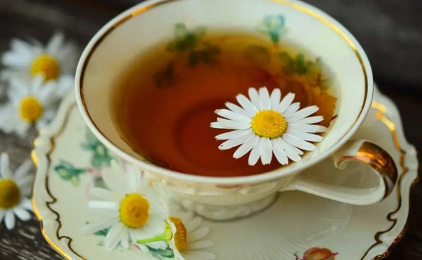 Chamomile tea (Photo - Pixabay.com).