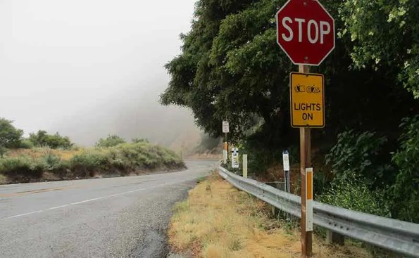 Mist and Rain Add to Dangers on Angeles Crest Highway