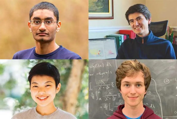 Four Caltech Undergrads Receive Goldwater Scholarships