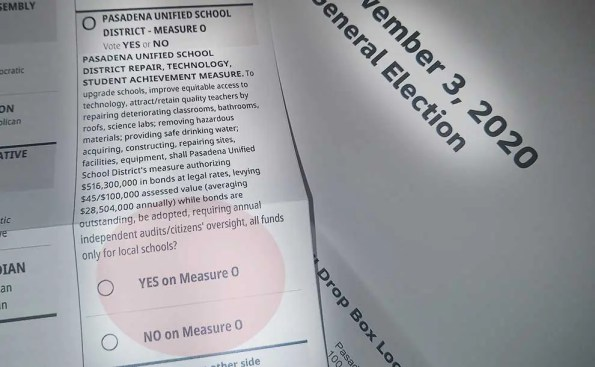 What is Pasadena Unified's Measure O?