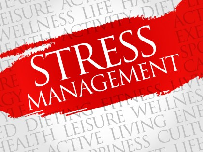 Stress management sign
