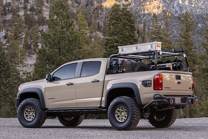 tonneau cover and ladder utility
