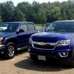 Surprising Size Difference Between 1st 2nd Gen Colorado Canyon Chevy Colorado Gmc Canyon