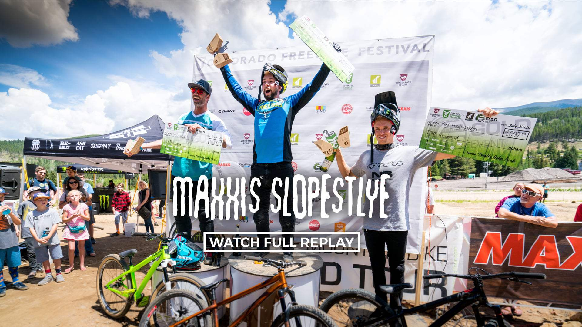 Maxxis Slopestyle at Colorado Freeride Festival