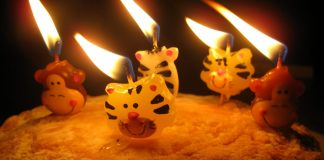 """Happy Happy Birthday Cake"" by Mathew Wilson via Flickr: Creative Commons"