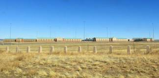 The United States Penitentiary, Administrative Maximum Facility (ADX). Fremont County, near Florence, Colorado.