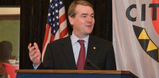 Michael Bennet speaking in 2011. (Photo by Jennifer Cogswell 11 via Flickr: Creative Commons)