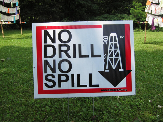Fracking, anti-fracking