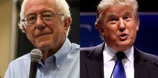 Donald Trump and Bernie Sanders win New Hampshire.