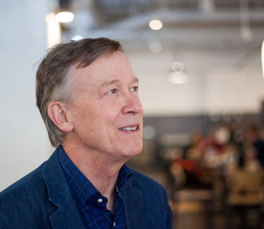 Hickenlooper is pitching his climate credentials on the Senate trail. It's a tough sell.