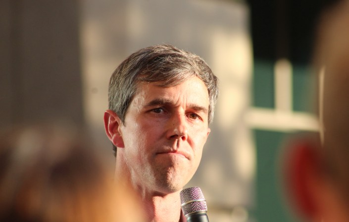Beto O'Rourke chose Aurora for a political rally. It was a lot more than that.