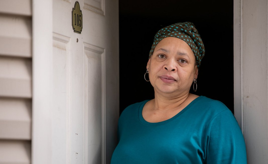 Rachel Hughes has not left her home since her husband, Pastor Terrance
