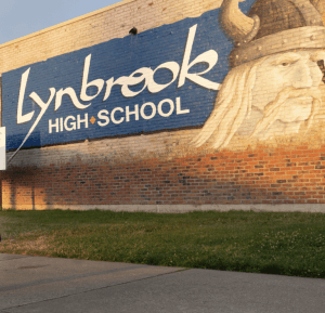 Lynbrook High School in San Jose, California, serves 1,900 students.