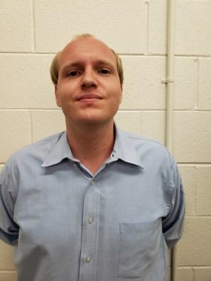 James Marshall's booking shot at the Alamosa County Jail. (Photo courtesy of Alamosa Police Department)