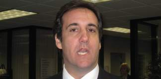 Donald Trump's personal attorney and fixer Michael Cohen.