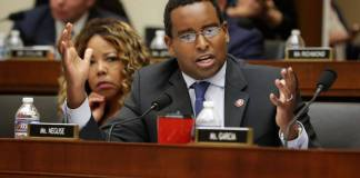 WASHINGTON, DC - MAY 08: House Judiciary Committee member Rep. Joe Neguse (D-CO) speaks during a mark-up hearing before its members voted to hold Attorney General William Barr in contempt of Congress for not providing an un-redacted copy of special prosecutor Robert Mueller's report in the Rayburn House Office Building on Capitol Hill May 08, 2019 in Washington, DC. (Photo by Chip Somodevilla/Getty Images)
