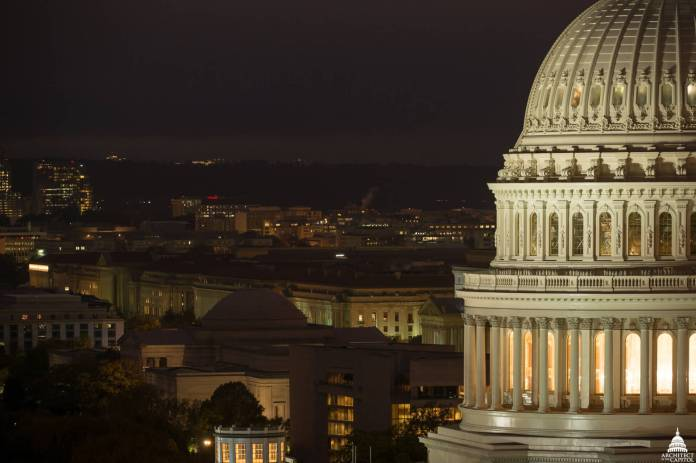 In 2016, the first comprehensive restoration of the Capitol Dome in more than half a century was completed. (Photo credit: Architect of the Capitol. www.aoc.gov)
