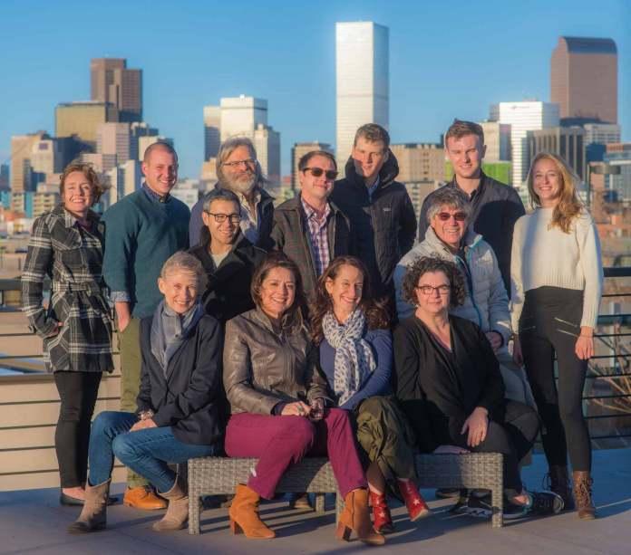 The Colorado Independent team (Photo by Evan Semón)