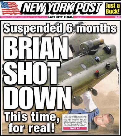 brain williams shot down