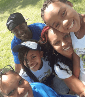 Dreion Dearing and his family members (picture included in a court motion)