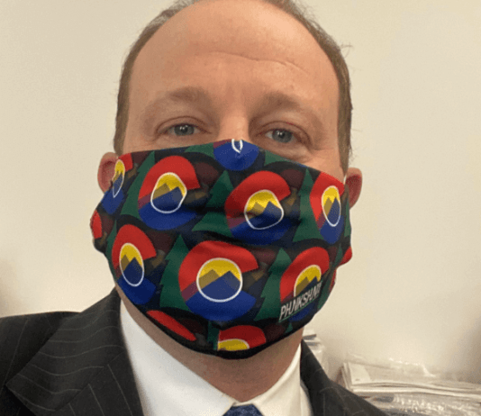 Littwin: Polis would trade Trump a cool mask for ventilators, but Trump wouldn't wear it